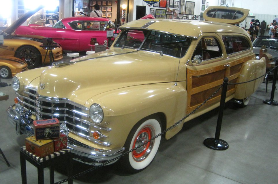 1947 Cadillac Custom Woody Wagon Photos