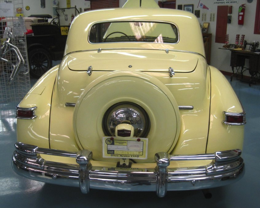 1947 Lincoln Continental Rear