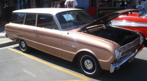 1963 Ford Falcon Station Wagon