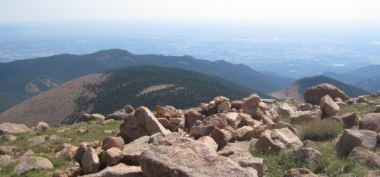Alamgre Mountain in Colorado Springs