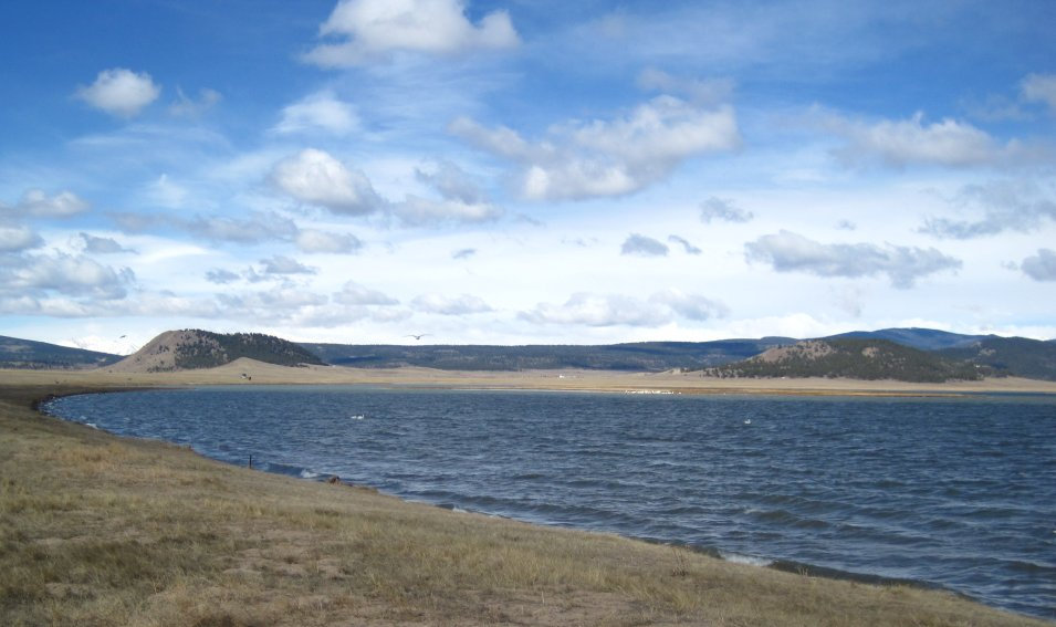 Antero reservoir in park county co fishing boating for Antero reservoir fishing