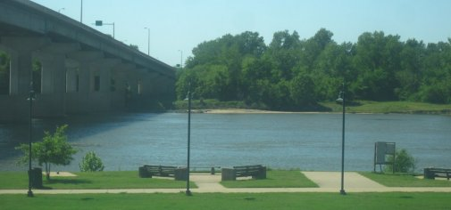 Arkansas River in Fort Smith
