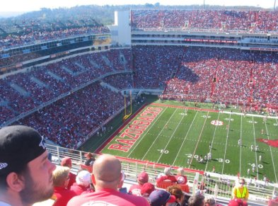 Arkansas Razorbacks Football Game