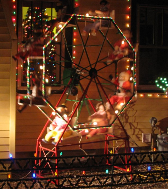 christmas lights christmas lights - Christmas Ferris Wheel Decoration