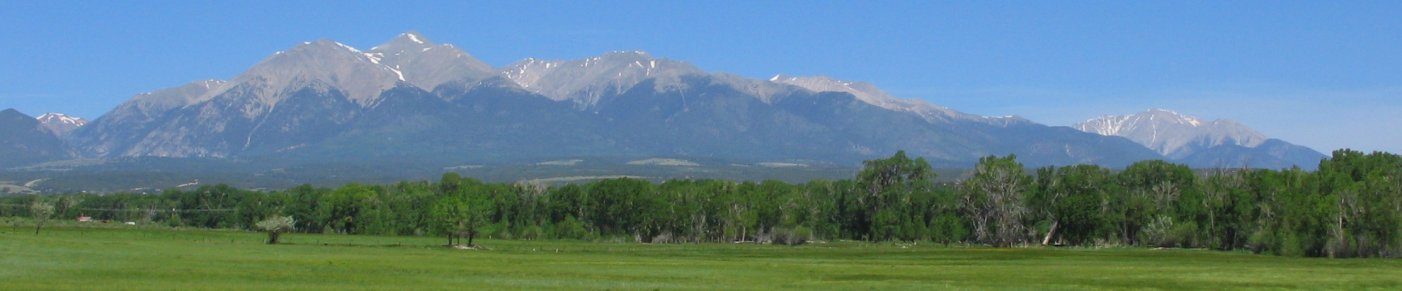 Mt. Shavano and Mt. Princeton