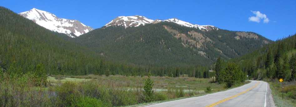 Independence Pass Road