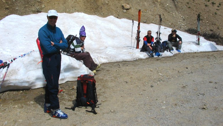 Independence Pass Skiers