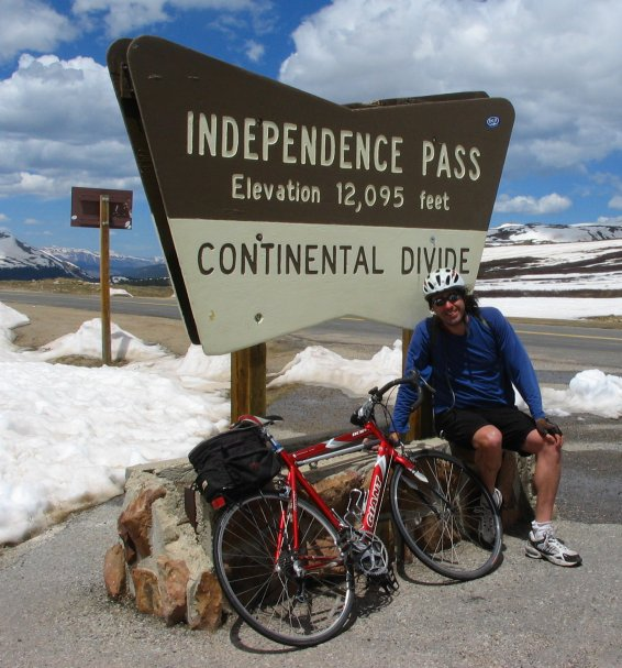 Bicycle Independence Pass