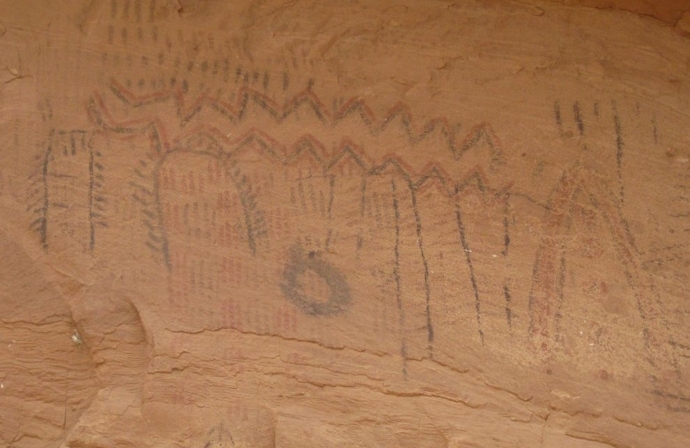 Indian Petroglyphs Art