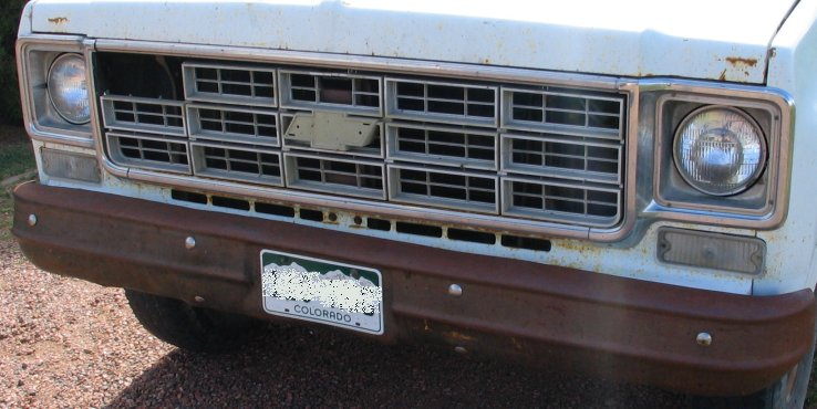 1977 Chevy Truck Grill