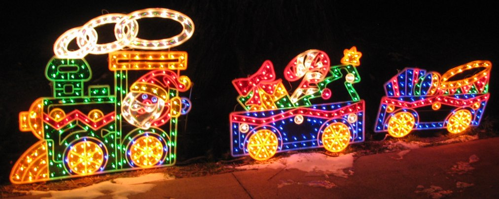 Photos Of Christmas Lights, Christmas Trees & S Mountain In Salida ...