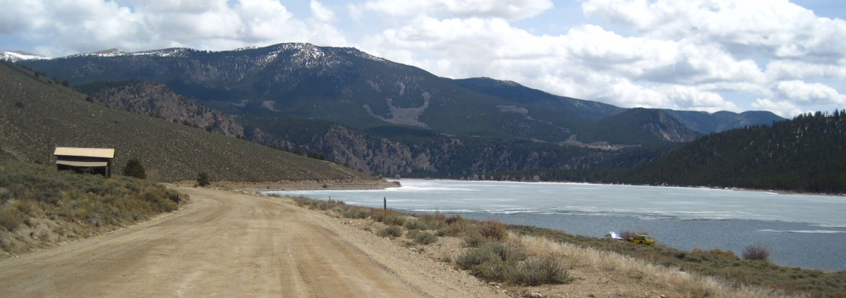 Clear Creek Reservoir In Chaffee County Co Fishing And