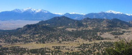 Chaffee County Mountains