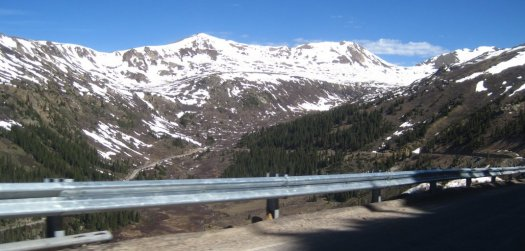 Independence Pass Scenery