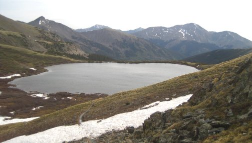 Ptarmigan Lake Colorado