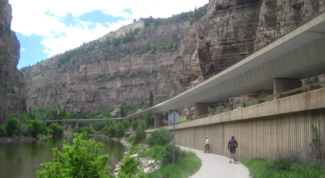 Glenwood Canyon Bike Trail