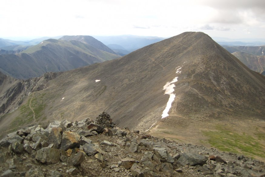 grays peak height