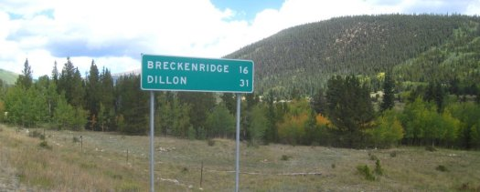 Breckenridge & Dillon Sign