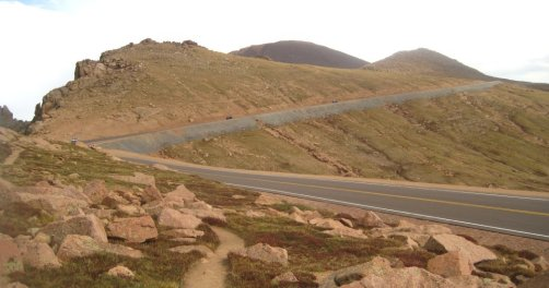 Pikes Peak Highway Photo