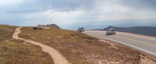 Pikes Peak Highway and Trail