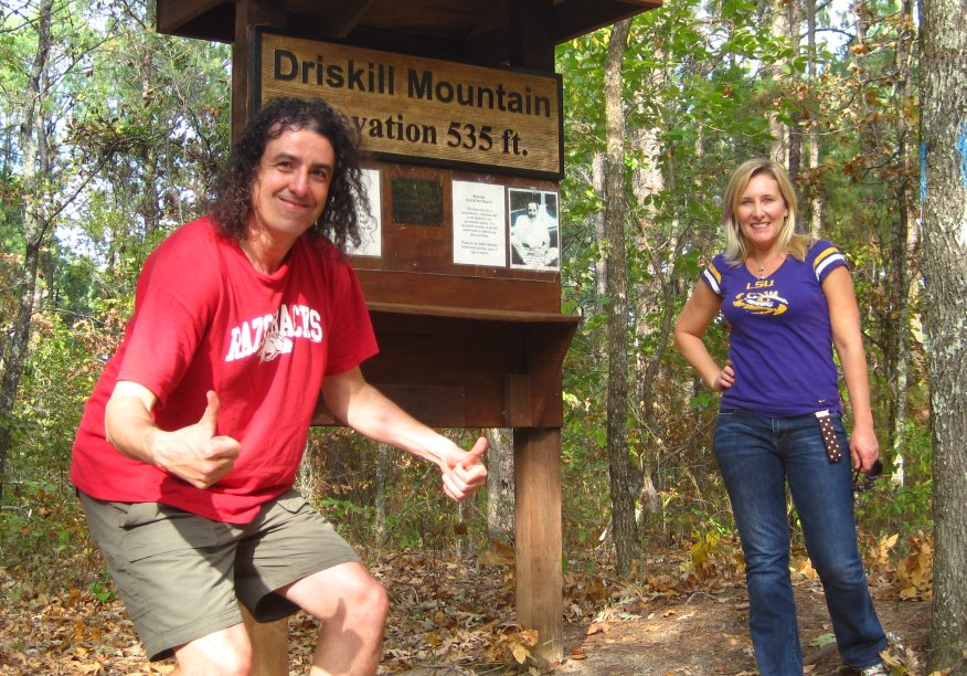 Driskill Mountain Louisiana