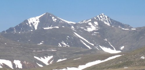 Grays and Torreys Peak