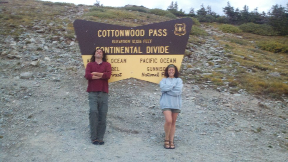 Noelle at Cottonwood Pass