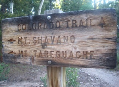 Mount Shavano Trailhead
