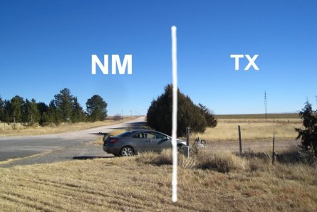 Texas State Line Road