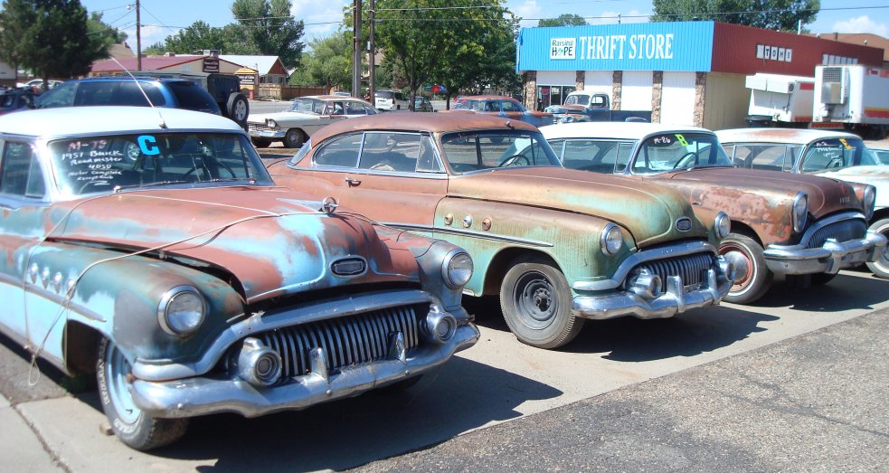 Orval\'s Used Cars - Classic Car Collectibles in Delta, Colorado