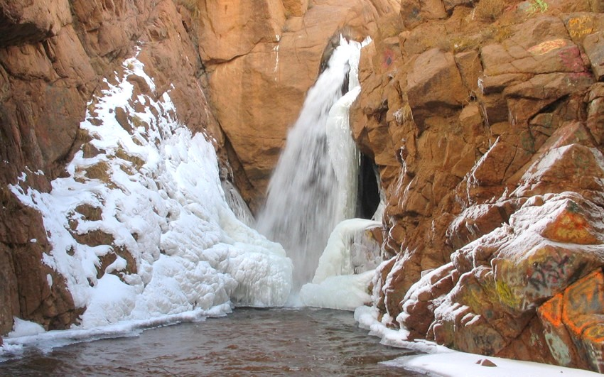 Image result for Rainbow Falls (Manitou Springs)
