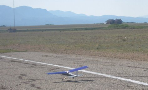 Remote Control Aircraft Landing