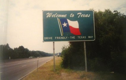 Texas State Sign