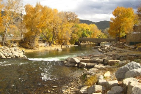 Arkansas River in Salida