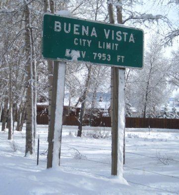 Buena Vista, CO Sign