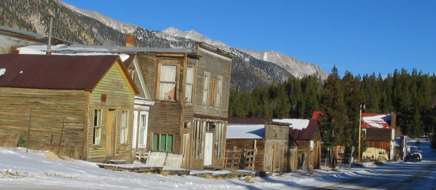 St. Elmo, Colorado - Pictures Of This Ghost Town In The Mountains