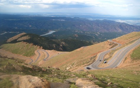 Pikes Peak Colorado Highway