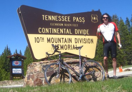 Cycling Tennessee Pass