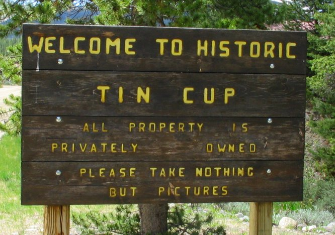 Tincup, Colorado