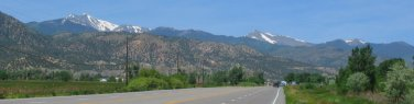 Mt. Ouray and Chipita Peak