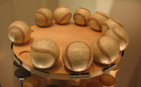 Roger Maris Home Run Baseballs