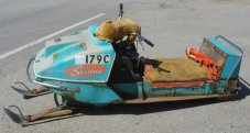 Antique Snowmobile