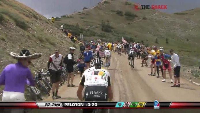 USA Pro Cycling Challenge at Cottonwood Pass