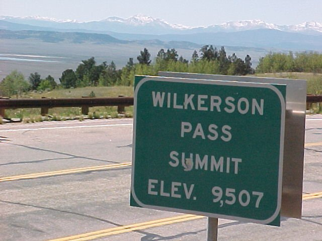 Wilkerson Pass Colorado