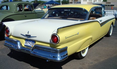 Ford Econoline Truck >> 1957 Ford Fairlane 500 - My Photos and Video