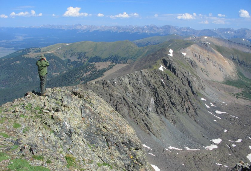 Colorado 13Ers Map Colorado 13ers and 12ers   My Hikes, Trail Info and Photos
