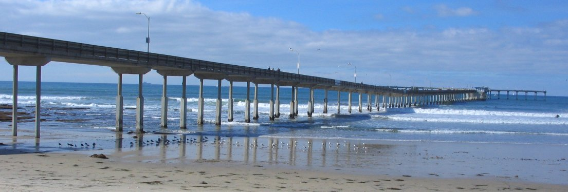 Ocean Beach Fishing Pier